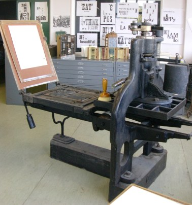 1814 Printing Press