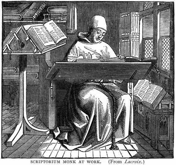 Scriptorium Monk
